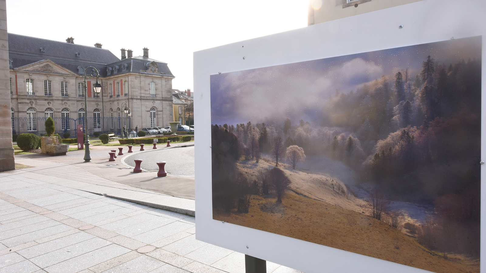 Flâneries : une exposition en plein air à Remiremont